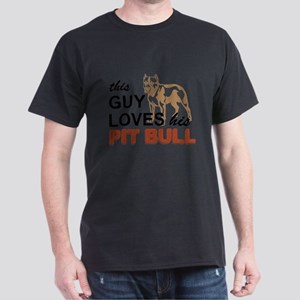 This Guy Loves His Pitbull T-Shirt