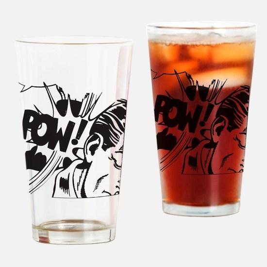 Vintage Comic Drinking Glass