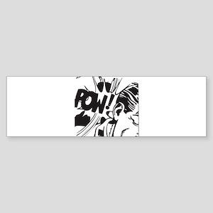 Vintage Comic Bumper Sticker