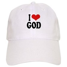 I Love God Cap