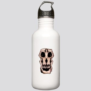 Women Skull Illusion Stainless Water Bottle 1.0L