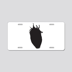 Nappy head Aluminum License Plate