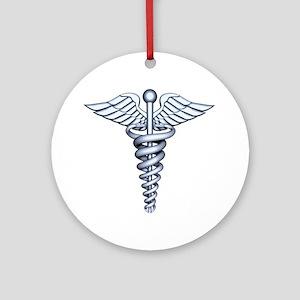 Medical Symbol Ornament (Round)