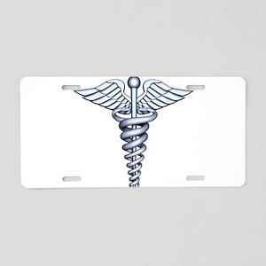 Medical Symbol Aluminum License Plate