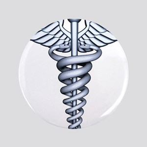 "Medical Symbol 3.5"" Button"