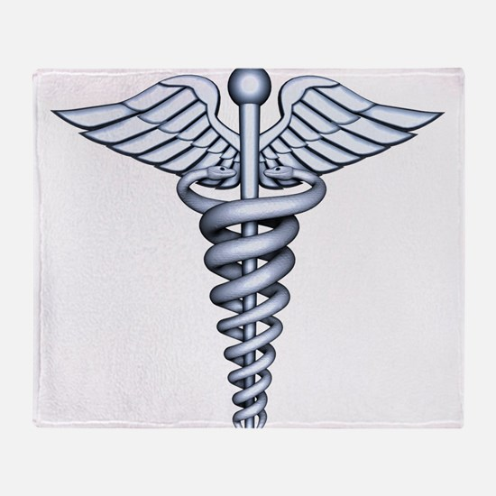 Medical Symbol Throw Blanket