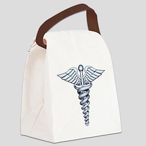 Medical Symbol Canvas Lunch Bag