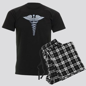 Medical Symbol Men's Dark Pajamas