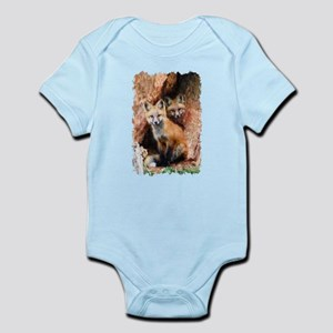 Fox cubs in Hollow Forest Tree Body Suit