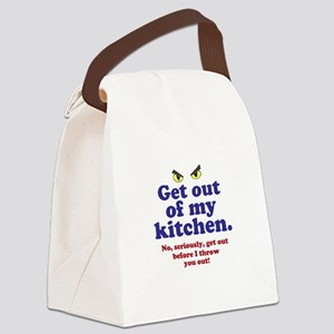 Get Out of my Kitchen Canvas Lunch Bag