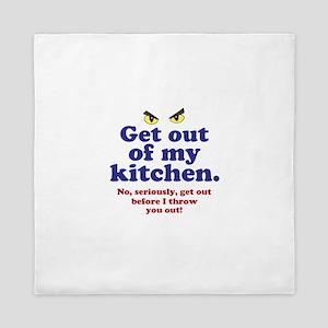 Get Out of my Kitchen Queen Duvet