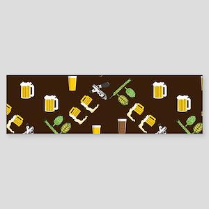 Beer Collage Sticker (Bumper)