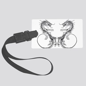 Dueling Dragons Luggage Tag