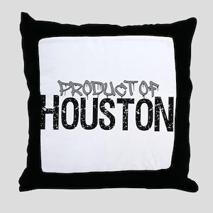 Product of Houston! Throw Pillow