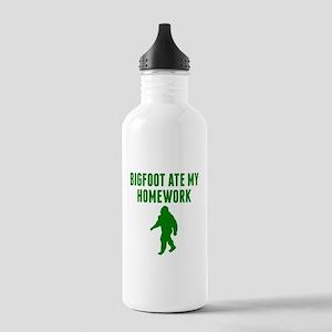 Bigfoot Ate My Homework Water Bottle