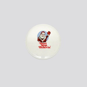 Santa Shirt Mini Button
