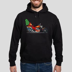 Have a Harley Christmas Hoodie (dark)