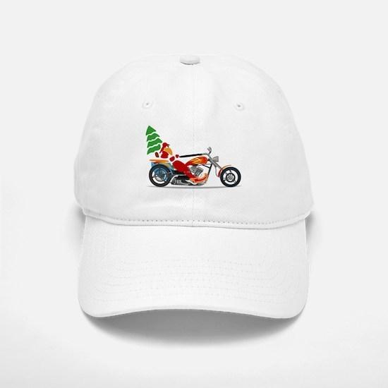 Have a Harley Christmas Baseball Baseball Cap