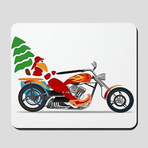 Have a Harley Christmas Mousepad