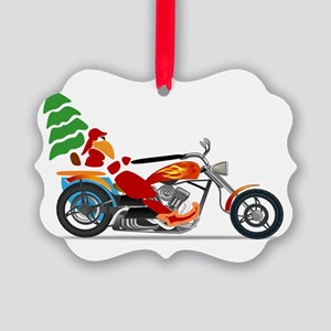 Have a Harley Christmas Picture Ornament