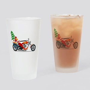 Have a Harley Christmas Drinking Glass