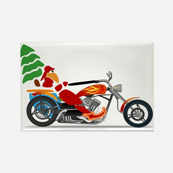 Have a Harley Christmas Magnets