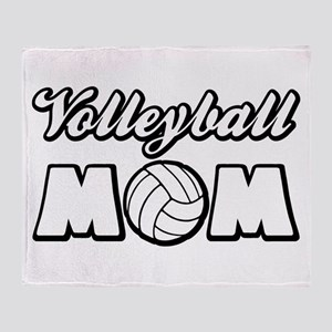 VOLLEYBALL MOM Throw Blanket