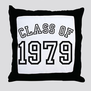 Class of 1979 Throw Pillow