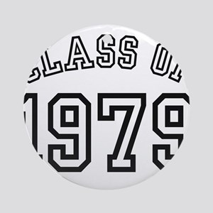 Class of 1979 Ornament (Round)