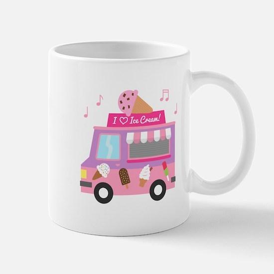 I love Ice Cream Truck Mugs
