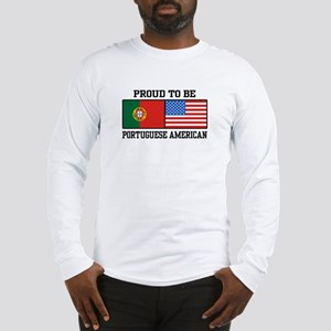 Portuguese American Long Sleeve T-Shirt