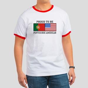 Portuguese American Ringer T