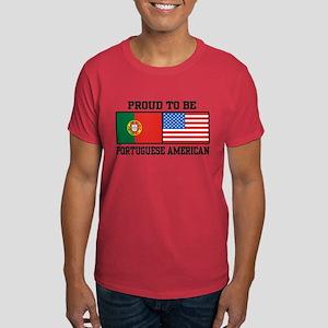 Portuguese American Dark T-Shirt