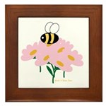 Twin A Bee Framed Tile