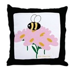Twin A Bee Throw Pillow