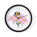 Twin A Bee Wall Clock