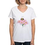 Twin A Bee Women's V-Neck T-Shirt