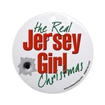 The Real Jersey Girl Christmas Ornament