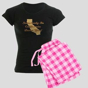 California Loves You Women's Dark Pajamas