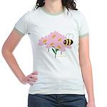 Twin B Bee Jr. Ringer T-Shirt