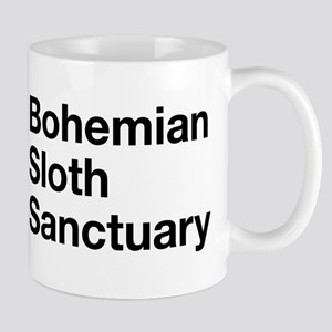 bohemian sloth sanctuary Mugs
