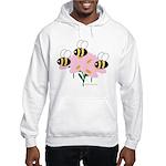Triplet Bees Hooded Sweatshirt