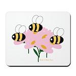 Triplet Bees Mousepad