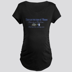Two Types Maternity Dark T-Shirt