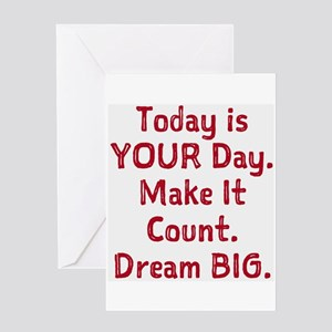Make It Count Greeting Cards
