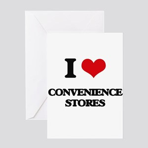 Convenience store greeting cards cafepress i love convenience stores greeting cards m4hsunfo