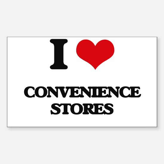 I love Convenience Stores Decal