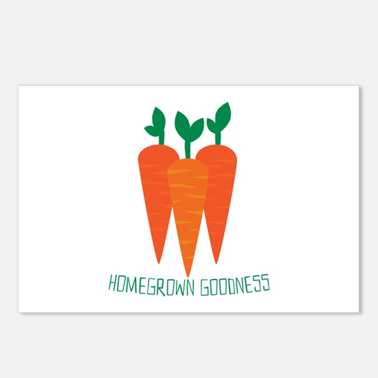 Homegrown Goodness Postcards (Package of 8)