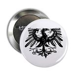 Gothic Prussian Eagle Button