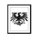 Gothic Prussian Eagle Framed Panel Print